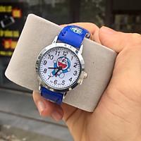 Đồng hồ trẻ em hình doremon (kèm ảnh thật) dành cho bé trai bé gái