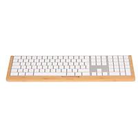 SAMDI SD-006Wa-3 Keyboard Stand Bamboo Keyboard Tray Dock Holder Replacement for Apple IMac