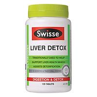 Thực Phẩm Chức Năng  Viên Uống Bổ Gan, Thải Độc Gan Swisse Liver Detox Úc (120 Viên)