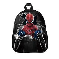 Balô cho bé size lớp 1 Spiderman (màu đen)