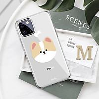 Ốp lưng silicone trong in hình cún dành cho iphone 5 / 6 / 7 / 8 / xr / x / xs / xs max / 11 / 11pro / 11pro max / 12 / 12 mini / 12 pro / 12 pro max - A463