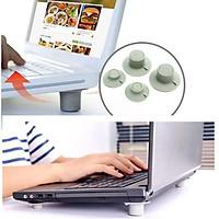 Chân đế tản nhiệt laptop (Combo 4 chiếc chân)
