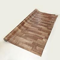 Thảm nhựa simili trải sàn vân gỗ màu nâu nhạt
