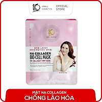 Mặt nạ Collagen Hàn Quốc KimKul HA Collagen Bio-Cell Mask trắng da ngừa mụn chống lão hóa