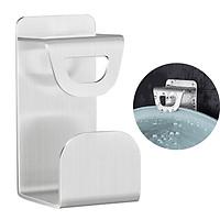 Móc treo thau chậu Inox 304 dán tường gạch men, kính HOBBY MTT có sẵn keo dán siêu dính
