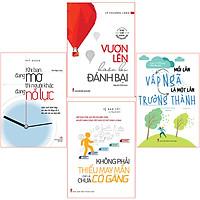 Bookset Sách: Vươn Lên Để Tiến Đến Thành Công ( Đang Mơ + Vấp Ngã + Đánh Bại + Không Phải Thiếu May Mắn )