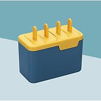 Hộp làm kem 2 lớp, khuôn làm kem 4 ngăn siêu tiện lợi GD332-Hopkem (giao màu ngẫu nhiên)