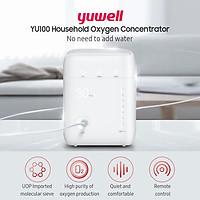 Máy tạo oxy gia đình YUWELL YU100 Nồng độ oxy cao 90% / nhập khẩu Molecular Sieve / Tiếng ồn thấp / Có điều khiển từ xa