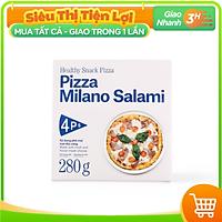 [Chỉ giao HCM] - 4P's Original Pizza Xúc Xích Salami (size 18-20cm) - được bán bởi TikiNGON - Giao nhanh 3H