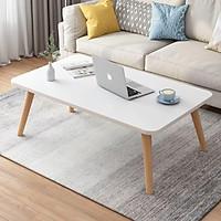 Bàn trà sofa, phòng khách hình chữ nhật thiết kế ngồi bệt, ngồi cao đơn giản hiện đại