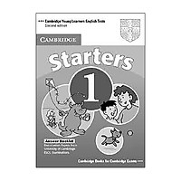 Cambridge Young Learners English Tests Second edition Starters 1 Answer Booklet