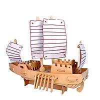 Bộ xếp hình 3D bằng gỗ cao cấp THE RUSSIAN SHIP ALCC