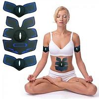 Máy massage tập cơ bụng 6 múi pin sạc Mobile GYM EMS - Xanh