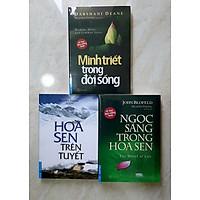 Combo 3 sách của Nguyên Phong: Minh triết trong đời sống, Ngọc sáng trong hoa sen, Hoa sen trên tuyết