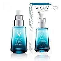 Vichy Minelar 89 Eyes Repairing Eye Fortifier (Mới) Dưỡng Chất Giàu Khoáng Giúp Cấp Ẩm Giảm Quầng Thâm Và Bọng Mắt Cho Vùng Da Quang Mắt Láng Mịn Rạng Rỡ - 15ml