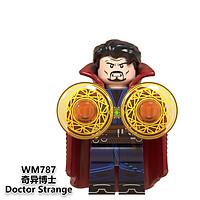 Minifigures Mô Hình Marvel DC Các Mẫu Nhân Vật Thanos Ironman Black Panther War Machine Doctor Stranger WM6072