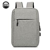 Balo Nam Nữ Thời Trang  Besti -  Balo Laptop, Macbook 15.6 inch - Hàng Chính Hãng