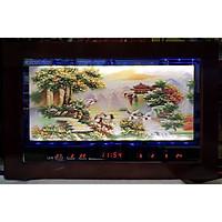 Tranh đá đèn led lịch vạn niên-Phong cảnh Sơn Thủy Hữu Tình -2085