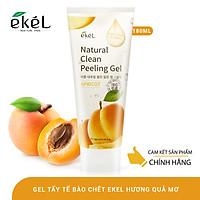 Tẩy tế bào chết quả mơ Ekel Natural Clean Peeling Gel Apricot 180ml