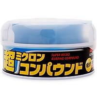 Sáp Đánh Bóng Phục Hồi Sơn Xe Màu Tối & Màu Đen Micro Rubbing Compound Wax Dark & Black B-40 Soft99 200g