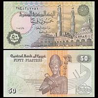 Tờ 50 piastres của Ai Cập, tiền thế giới sưu tầm