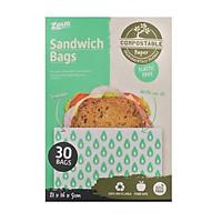 Hộp 30 túi đựng sandwich Uncle Bills BC0559
