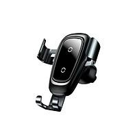 Giá đỡ điện thoại kiêm sạc không dây Baseus trên ô tô WXYL-B0A gắn hốc gió, Sạc không dây theo chuẩn Qi - Hàng nhập khẩu