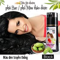 Combo 3 chai Dầu gội nhuộm tóc thảo dược US Hair