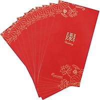 Extreme space (JDKJ) wedding red envelope creative Chinese wedding celebration is a wedding hundred yuan red envelope bag wedding supplies romantic agreement 50