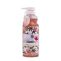 Sữa tắm trắng, dưỡng ẩm, mềm mịn da Nhật Bản Jojoba Bông Hoa New Moon Shower Gel (950ml) – Hàng Chính Hãng