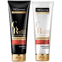 Bộ Gội Xả Dành Cho Tóc Nhuộm Tresemmé Color Radiance & Repair For Colored Hair (250ml x 2)