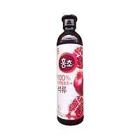 Nước Uống Hongcho Hàn Quốc Vị Lựu chai 500ml