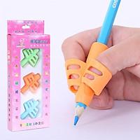 Bộ 3 Vỏ bọc silicon hỗ trợ bé đệm tay định vị cầm bút đúng cách