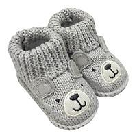 Vớ tất len sơ sinh cao cấp First Soks Fold Up Socks Lucky Baby