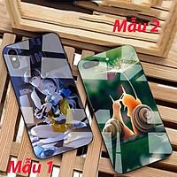 Ốp lưng kính cường lực sành điệu cá tính dành cho Iphone X/ XS/ XS Max/ 11/ 11 Pro/ 11 Pro Max