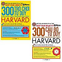 Combo 300 Trò Chơi Tư Duy Của Sinh Viên Trường Đại Học Harvard và 300 Câu Đố Tư Duy Của Sinh Viên Trường Đại Học Harvard