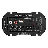 220V Bluetooth Power Amplifier Hi-Fi Bass Mono Digital Mini Amp Radio TF/USB Car Mini Power Amplifier