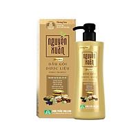 Dầu gội dược liệu Nguyên Xuân Bồng Bềnh 250ml - Ngát hương hoa, phù hợp với da đầu dầu.