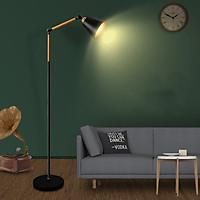 Đèn Cây Trang Trí Phòng Khách D340 - Mẫu Thiết Kế Mới Nhất - Chất Liệu Thép Ống Cứng Phủ Sơn Tĩnh Điện - Tặng Kèm 1 Bóng Đèn LED - Hàng Cao Cấp
