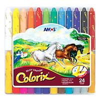 Bút Màu Trang Trí 3 Trong 1 Colorix AMOS ACX2 (24 Màu)
