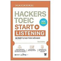 Sách - Hackers Toeic Start Listening