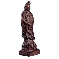 Tượng gỗ tẩm trầm hương Mẹ Quan Âm hộ mệnh