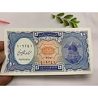 Tờ tiền Ai Cập hình kim tự tháp 10 đồng - tặng phơi nylon bảo quản tiền
