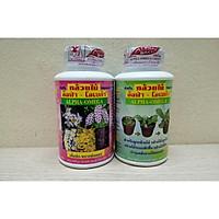 ComBo Alpha Omega Xanh 250 ml - Kích thích sinh trưởng, kích mầm chồi hoa Lan + Thuốc kích hoa Alpha Omega U45 250ml _ Hàng nhập Thái Lan
