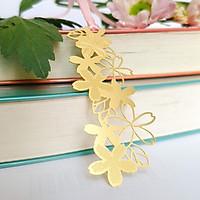 Bookmark kim loại họa tiết sakura hình nhành hoa