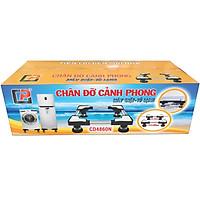 Chân Đỡ Máy Giặt Tủ Lạnh Cảnh Phong CD4860N ( Chân Inox 48-60cm)