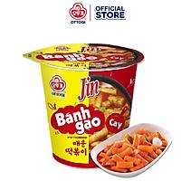 Combo 3 ly bánh gạo Tokbokki Ottogi Jin Cay 82g