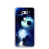 Ốp lưng dẻo cho điện thoại LG V30 - 0294 PANDA - Hàng Chính Hãng