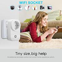 WIFI Smart Conversion Socket WIFI 2.4GHz b/g/n Plug Socket Power Switch APP Remote Control US/ EU Plug Socket Work wit
