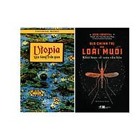 Combo 2 Cuốn Uptopia - Địa Đàng Trần Gian  + Địa Chính Trị Của Loài Muỗi - Khái Lược Về Toàn Cầu Hóa